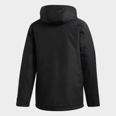 Men City Outdoor Black Xploric 3-Stripes Jacket