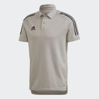 Camiseta Polo Condivo 20 Gris Hombre Fútbol