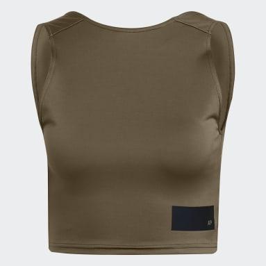Camiseta sin mangas Parley Marrón Mujer Sportswear