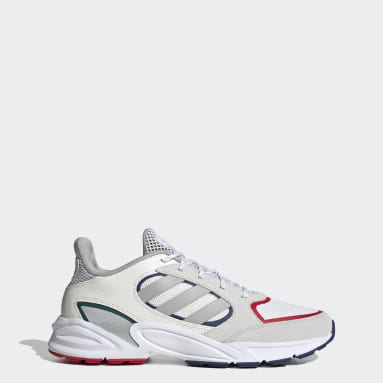 Men's Essentials White 90s Valasion Shoes