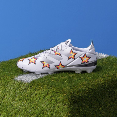 Soccer White Gamemode Firm Ground Cleats