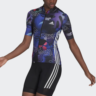 The JEM Cycling Jersey Fioletowy