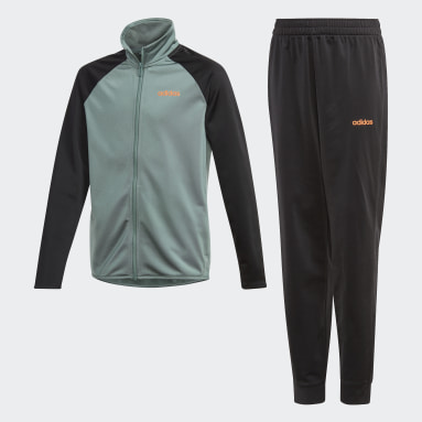 Boys Gym & Training Green Entry Track Suit