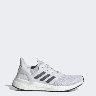 Men Running Grey Ultraboost 20 Shoes