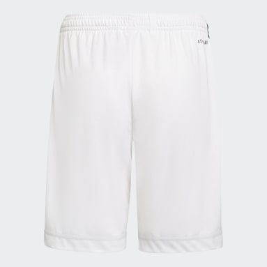 Youth 8-16 Years Football White Juventus 21/22 Home Shorts