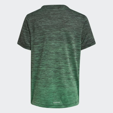Camiseta AEROREADY Gradient Gris Niño Gimnasio Y Entrenamiento
