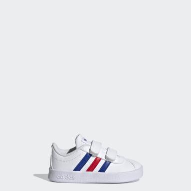 Chaussure VL Court2.0 Blanc Enfants Marche