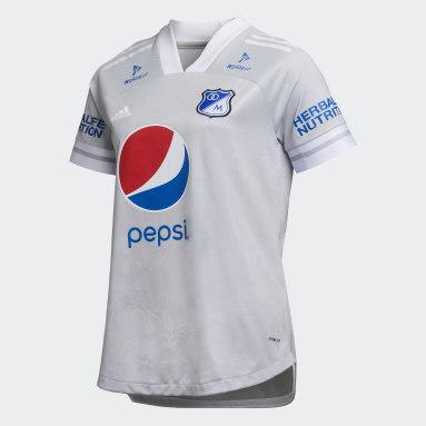 CAMISETA DE VISITANTE MILLONARIOS FC Gris Mujer Fútbol