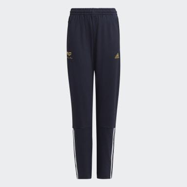 Pantaloni AEROREADY Salah Football-Inspired Tapered Blu Ragazzo Fitness & Training
