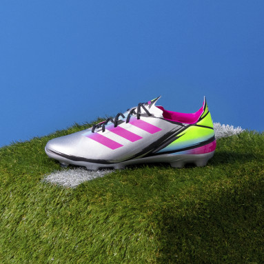 Football Silver Gamemode Firm Ground Boots