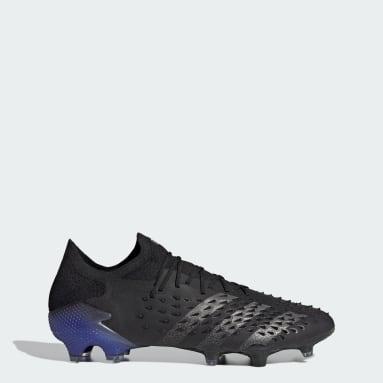 Men Football Black Predator Freak.1 Firm Ground Boots
