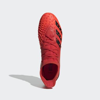 Football Red Predator Freak.2 Firm Ground Boots