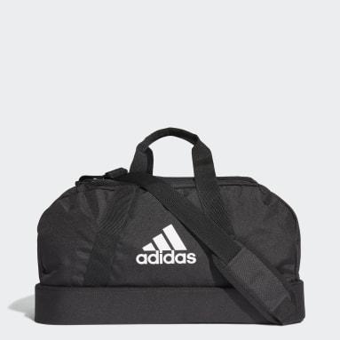 Football Black Tiro Primegreen Bottom Compartment Duffel Bag Small