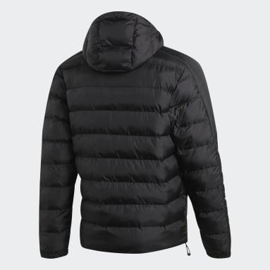 Männer City Outdoor Itavic 3-Streifen Winterjacke 2.0 Schwarz
