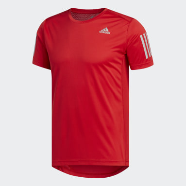 T-shirt Own the Run Rouge Hommes Running