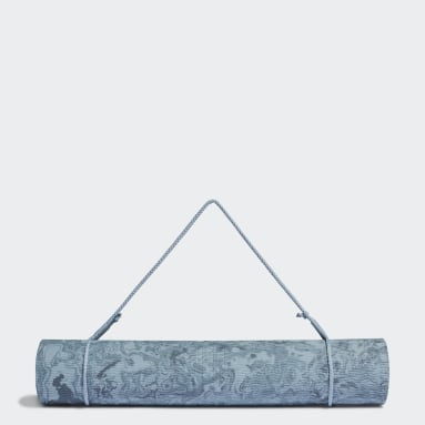 Tappetino da yoga Camouflage Blu Studio