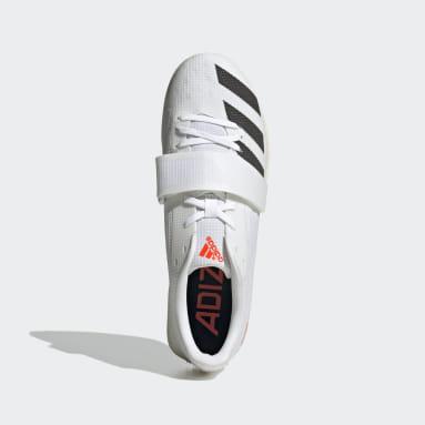 Track & Field White Adizero TJ/PV Tokyo Shoes