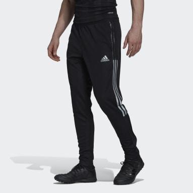 Calças Tiro Preto Homem Futebol