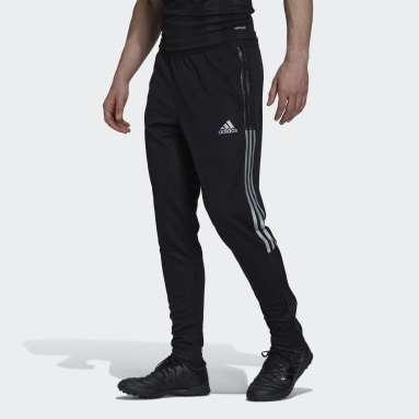Männer Fußball Tiro Reflective Trainingshose Schwarz