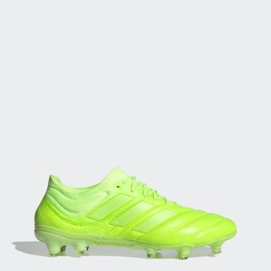 Bota de fútbol Copa 20.1 césped natural seco Verde Mujer Fútbol