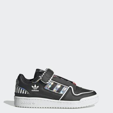 Women Originals Black Forum Plus Shoes