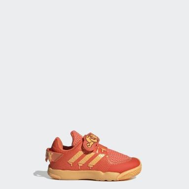 Infants เทรนนิง สีส้ม รองเท้า Disney Winnie the Pooh ActivePlay
