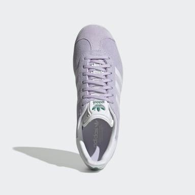 Women Originals Purple Gazelle Shoes