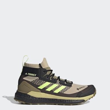 Chaussure de randonnée Terrex Free Hiker GTX Beige TERREX