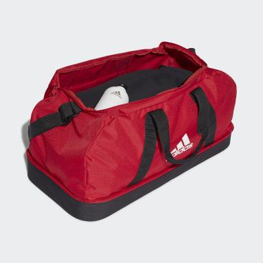 Fotboll Röd Tiro Primegreen Bottom Compartment Duffel Bag Medium