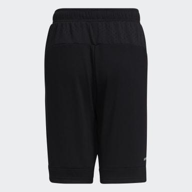 Boys Lifestyle Black Badge of Sport Shorts