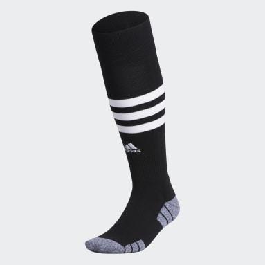 Training Black 3-Stripes Hoop OTC Socks