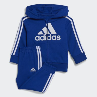 Infant & Toddler Training Blue Badge of Sport French Terry Hooded Jacket Set