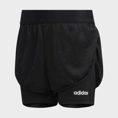 Shorts Negro Niña Training