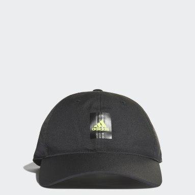 Running Black Essentials Logo Lightweight Cap