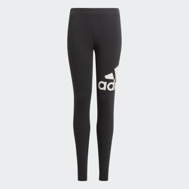 Girls Lifestyle Black adidas Essentials Tights