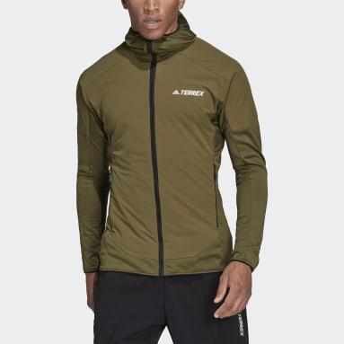 Men TERREX Green Terrex Skyclimb Fleece Jacket