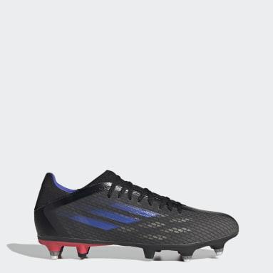 Fußball X Speedflow.3 SG Fußballschuh Schwarz