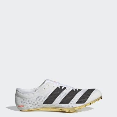 Zapatilla de atletismo Adizero Finesse Blanco Hombre Atletismo