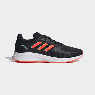 Men Running Black Run Falcon 2.0 Shoes