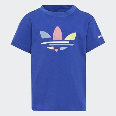 Camiseta Adicolor Azul Niño Originals