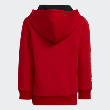 Sudadera con capucha adidas x LEGO® James Harden Rojo Niño Baloncesto