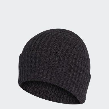 черный Шапка Blue Version