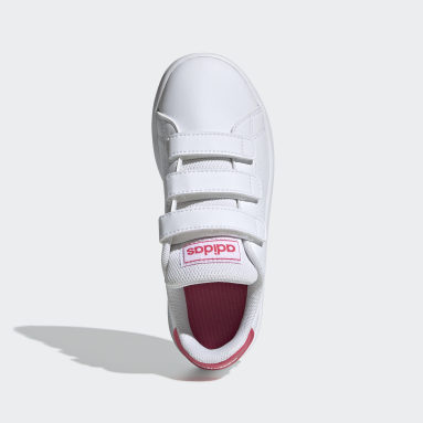Girls Lifestyle White Advantage Shoes