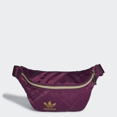 Women Originals Burgundy Waist Bag