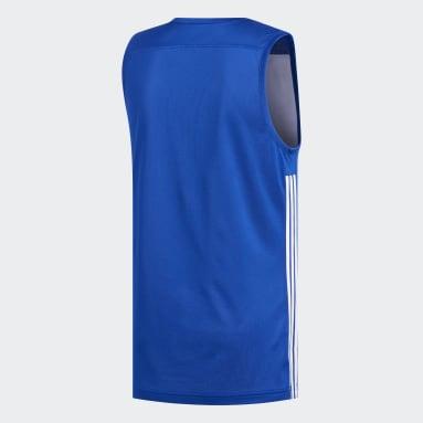 Maillot 3G Speed Reversible Bleu Hommes Basketball