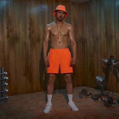 Men Originals Orange Swim Trunks