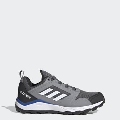 Men TERREX Grey Terrex Agravic TR Trail Running Shoes