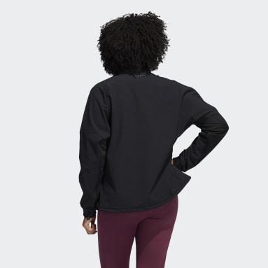 Women Running Black COLD.RDY 1/2-Zip Training Jacket