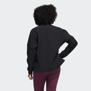 Sudadera COLD.RDY 1/2-Zip Training Negro Mujer Running