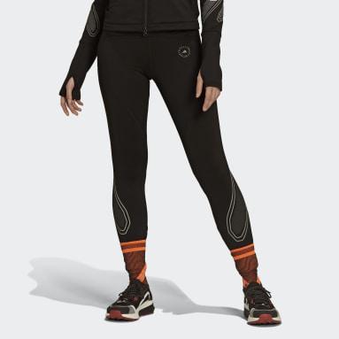 Ženy adidas by Stella McCartney černá Legíny TruePace COLD.RDY